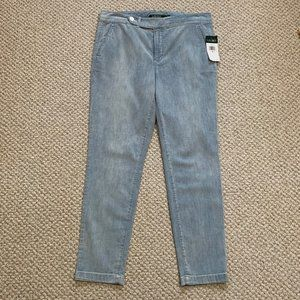 LAUREN RALPH LAUREN - Denim Straight Pants - NWT
